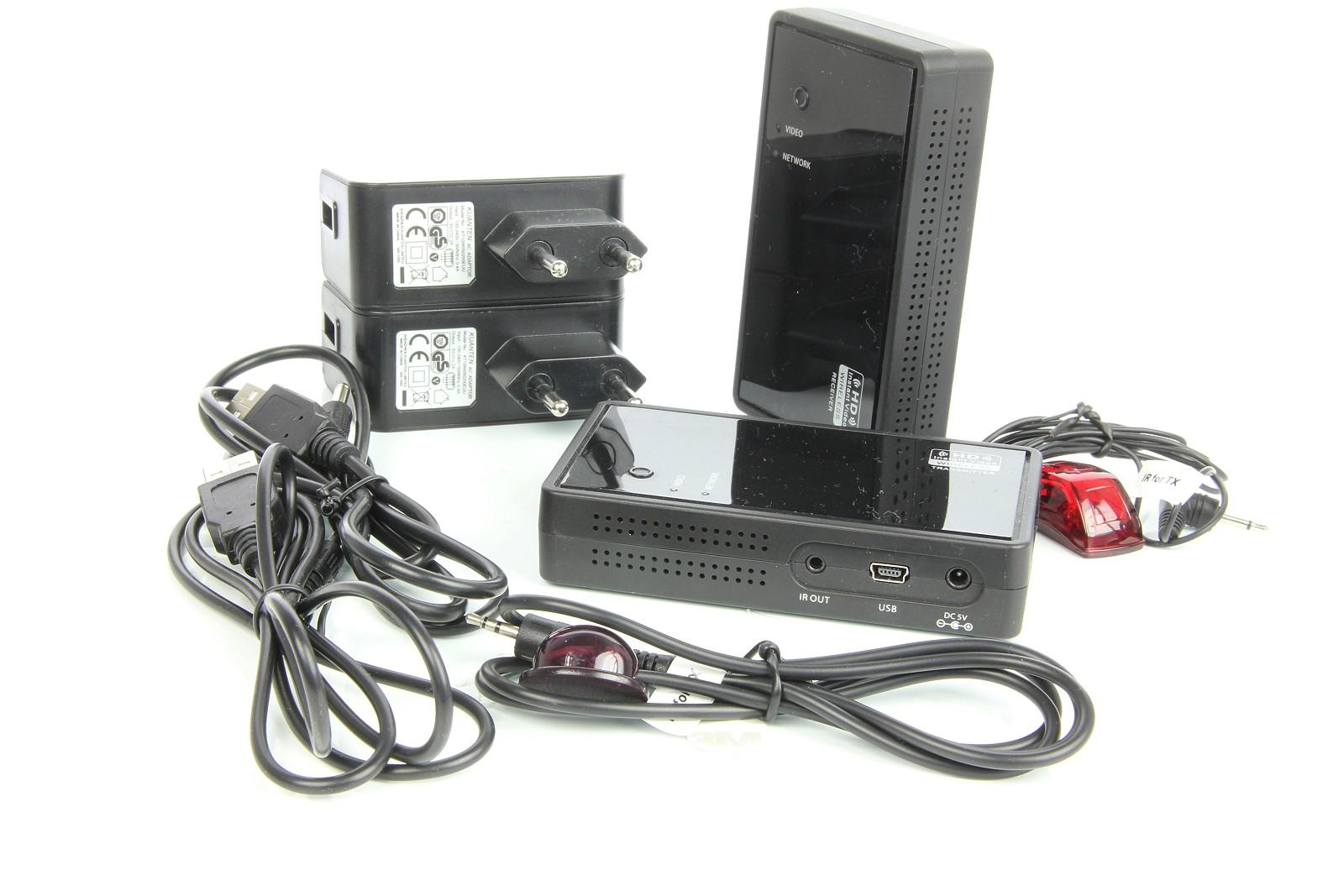 Artikelfoto FineVideo Drahtlos HDMi Sender und Empfänger WV-HD1