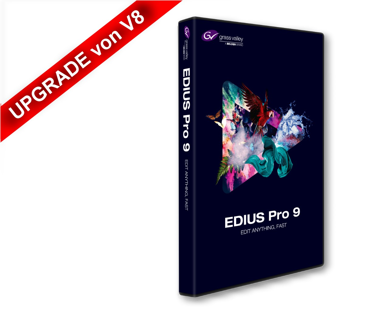 Artikelfoto 1 Grass Valley EDIUS Pro 9 Upgrade von Version 8
