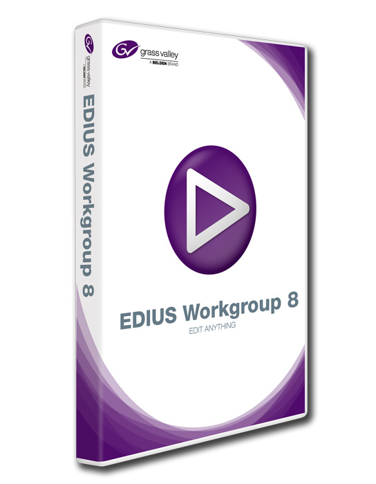 Foto Grass Valley EDIUS Workgroup 8 Upgrade von Pro 8