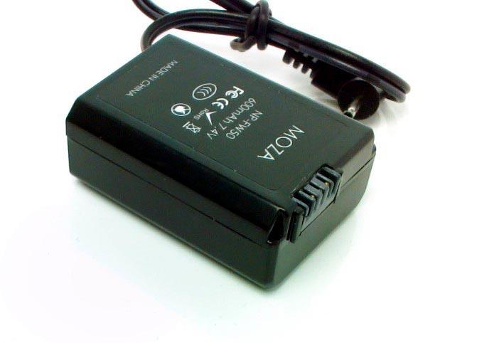 Artikelfoto Gudsen MOZA Aircross PowerBox NP-FW50 für SONY A7 Kameras