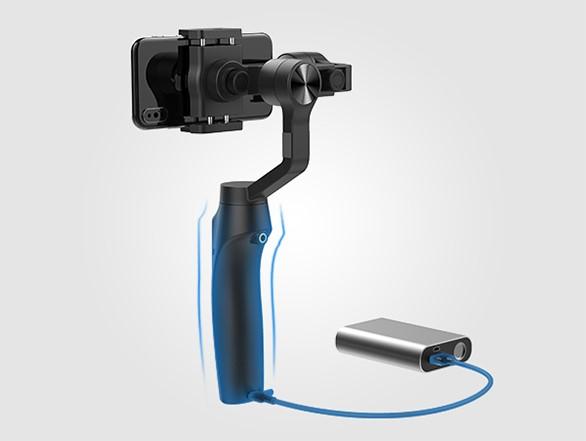 Artikelfoto 3 Achsen Stabilisierung Gudsen MOZA Mini-Mi für Smartphones