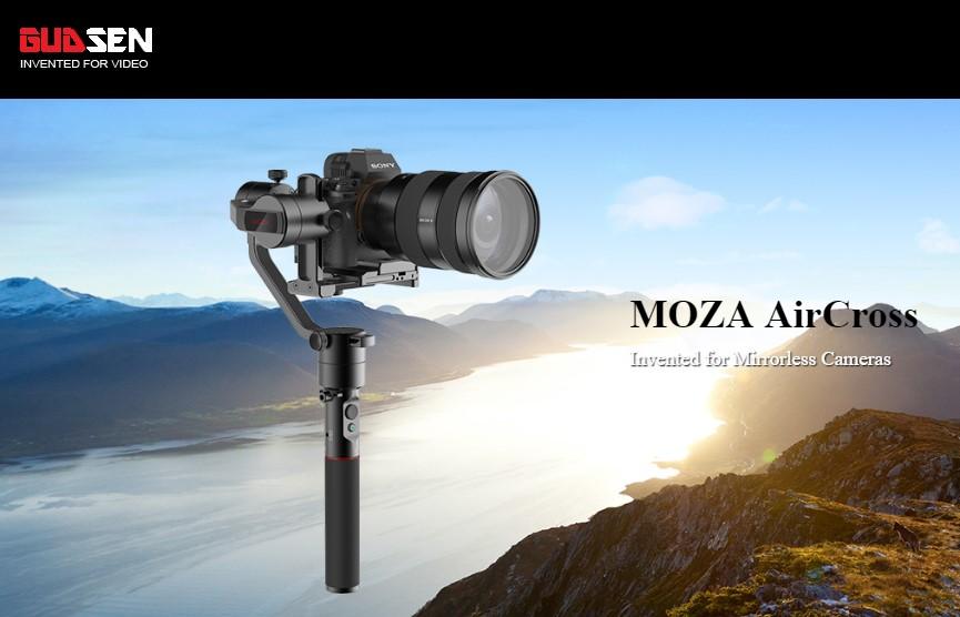 Artikelfoto 3 Achsen GIMBAL Gudsen MOZA AirCross für Kameras bis 1.8 Kg