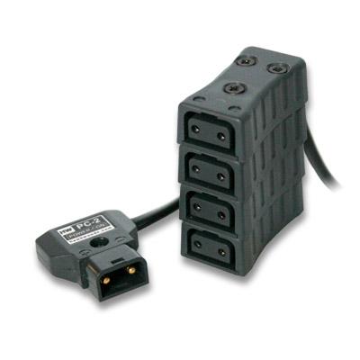Artikelfoto 1 HawkWoods Power-TAP Verteiler 4-fach ( 1 x Stecker auf 4 x Buchse ) PC-11