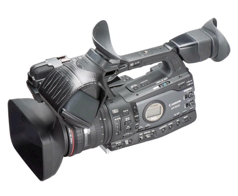 Foto Hoodman H305KP Sucherkit Augenmuschel Canon XF Serie und Pansonic DVX200