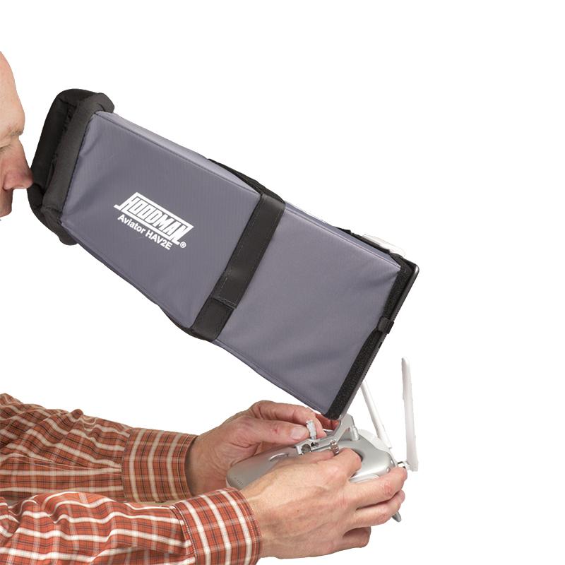 Artikelfoto Hoodman HAV2KIT Sonnenschutzblende für Drone Aviator hood for the iPad Air Air2