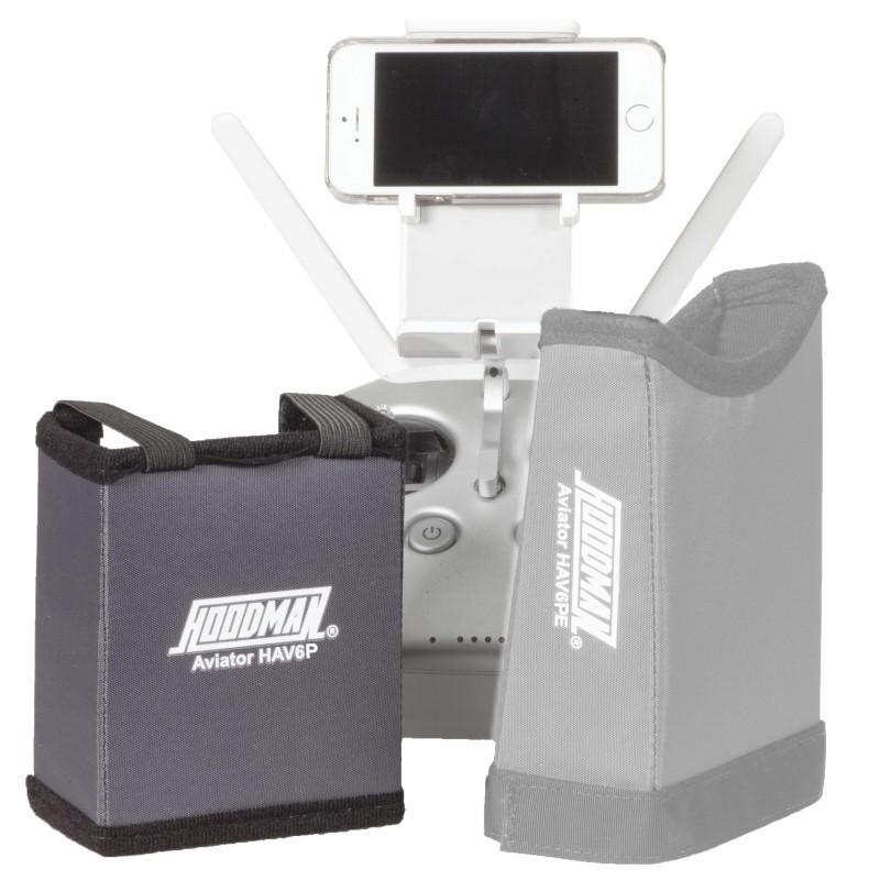 Artikelfoto Hoodman HAV6P Sonnenschutzblende für das IPhone 6Plus und Aviator Drone