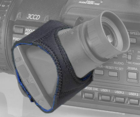 Foto Hoodman HCAM4 Camcorder Neopren Montageband für Hoodloupe 3.0