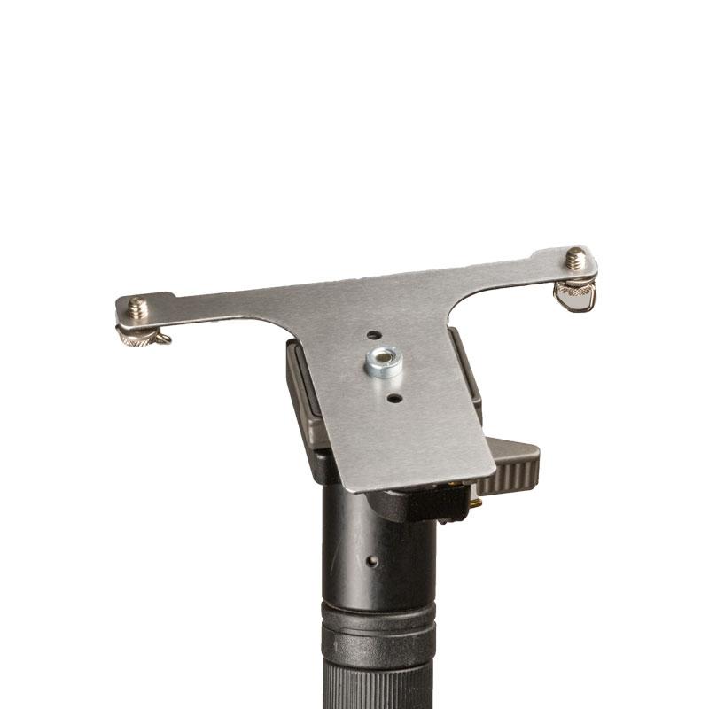 Artikelfoto Hoodman Stativmontageplatte HDCMC für Drohnensteuerung DJI Cendence
