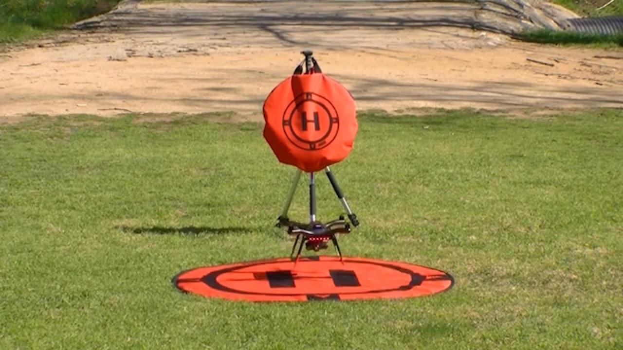 Artikelfoto Hoodman Startplatz HDLP3 für Drohnen wie DJI Gopro Karma und andere