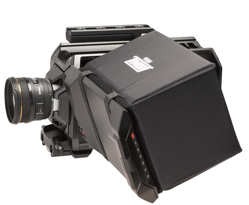 Artikelfoto Hoodman HRSA - Blendschutz für Blackmagic Design URSA Kamera - kurze Bauform