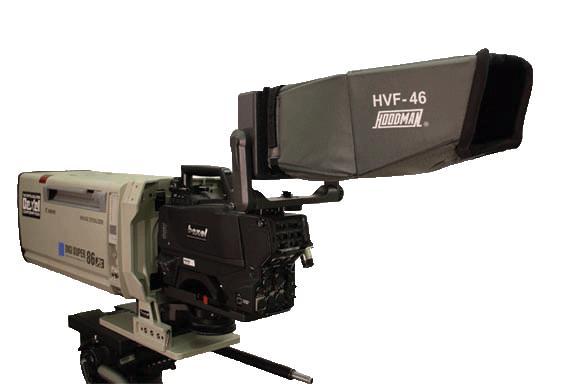 Artikelfoto 1 Hoodman HVF-46 Blendschutz Sucherschacht für 4-10 Zoll Monitore