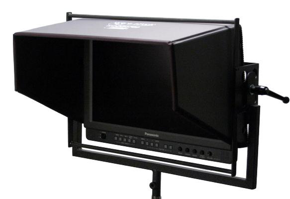 Artikelfoto 1 Hoodman H-1700 LCD Sonnenschutzblende Blendschutz JVC ( Velcro )