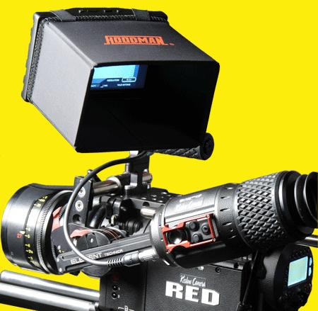 Foto Hoodman H-R56 LCD Sonnenblende Blendschutz