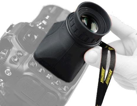 Foto Hoodman H-LPP3 3 Zoll Display Sucher Aufsatz