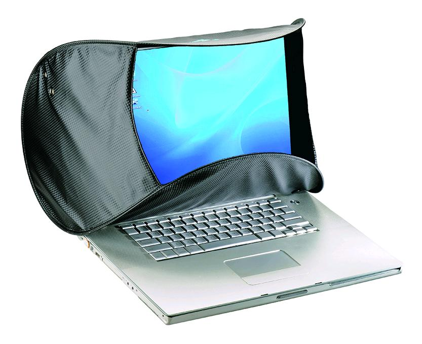 Foto Hoodman HOODMAC Blendschutz für Mac Laptops 11 bis 17 Zoll