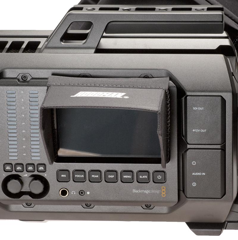 Artikelfoto Hoodman HV5 - 5 Zoll Blendschutz für Blackmagic URSA LCD, Atomos Ninja und mehr