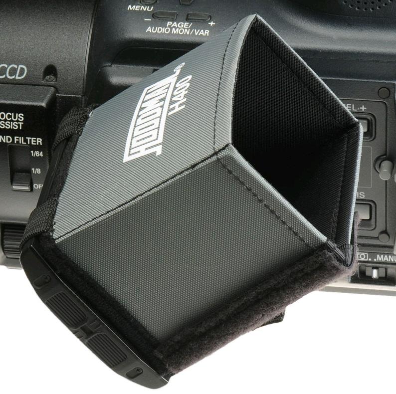 Artikelfoto Hoodman H-400 LCD Sonnenblende Blendschutz für LCD Monitore und Kamerasucher