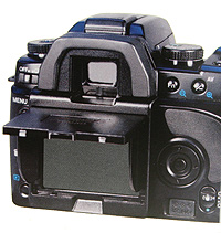 Artikelfoto 1 Hoodman H-M5D - Schutzkappe und Blendschutz für Minolta 5D