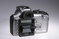 Artikelfoto 1 Hoodman Blendschutz und Kratzschutz für die Canon 350