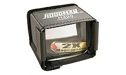 Foto Hoodman H-3C LCD Blendschutz H-300 plus Lupe