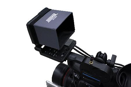 Foto Hoodman HC300 LCD Sonnenblende Blendschutz für Canon C300 C500