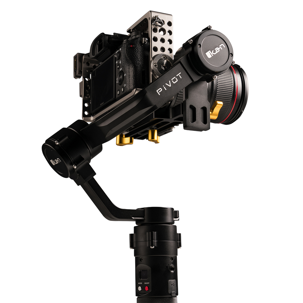 Artikelfoto 3 Achsen GIMBAL für DSLR Kameras IKAN PIVOT bis 3.6Kg