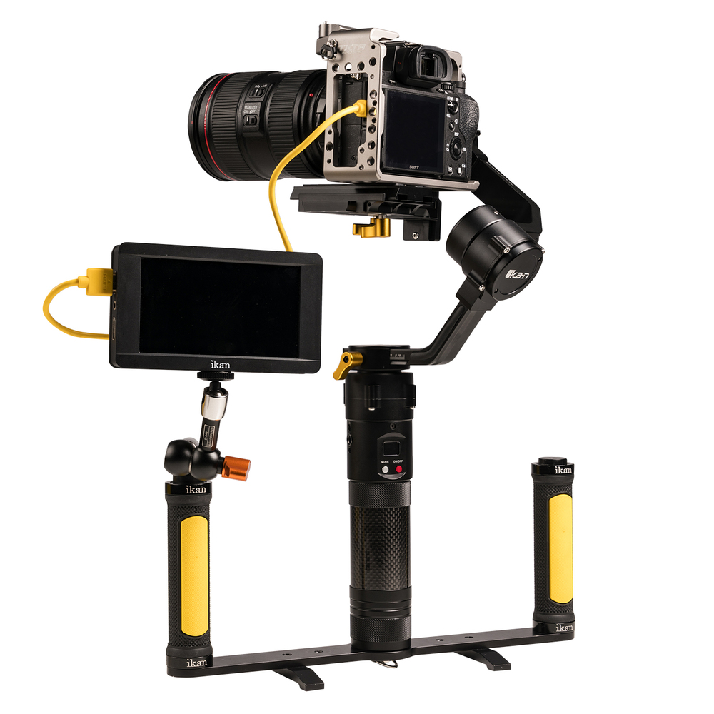 Ikan Pivot Gimbal For Cameras Up To 8 Lbs Zhiyun Z1 Crane Ver 20 3 Axis Stabilizer Mirrorless Camera