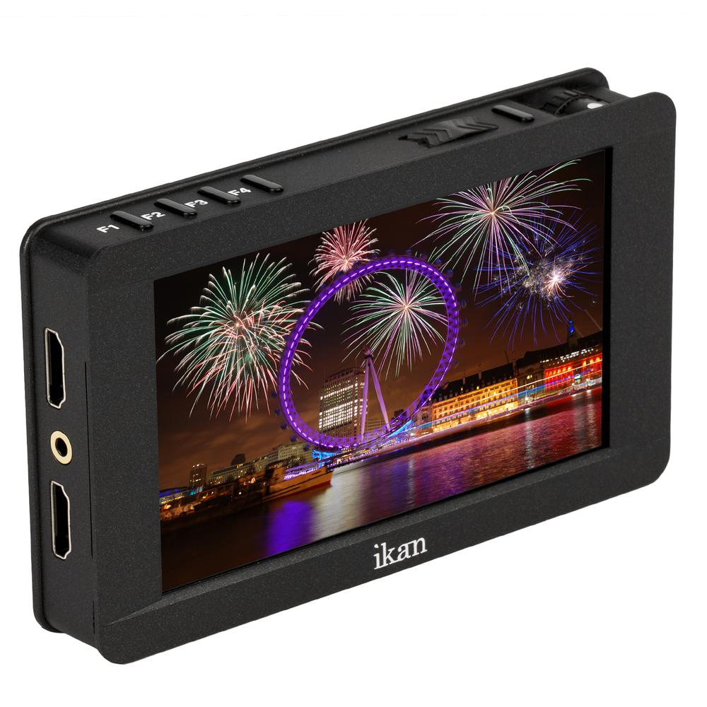 Artikelfoto IKAN DH5e 5 Zoll Professional FULL HD HDMI-MONITOR mit 4K Support
