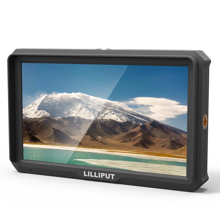 Artikelfoto Lilliput A5 4K fähiger HDMI Monitor 5 Zoll mit Full HD Panel