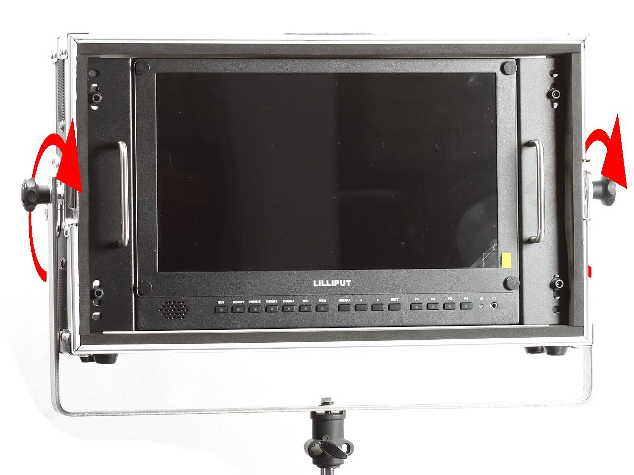 Artikelfoto Lilliput 15.6 Zoll 4K HDR Monitor mit Schwenkrahmen für Lichtstativ BM150-4KS-LP
