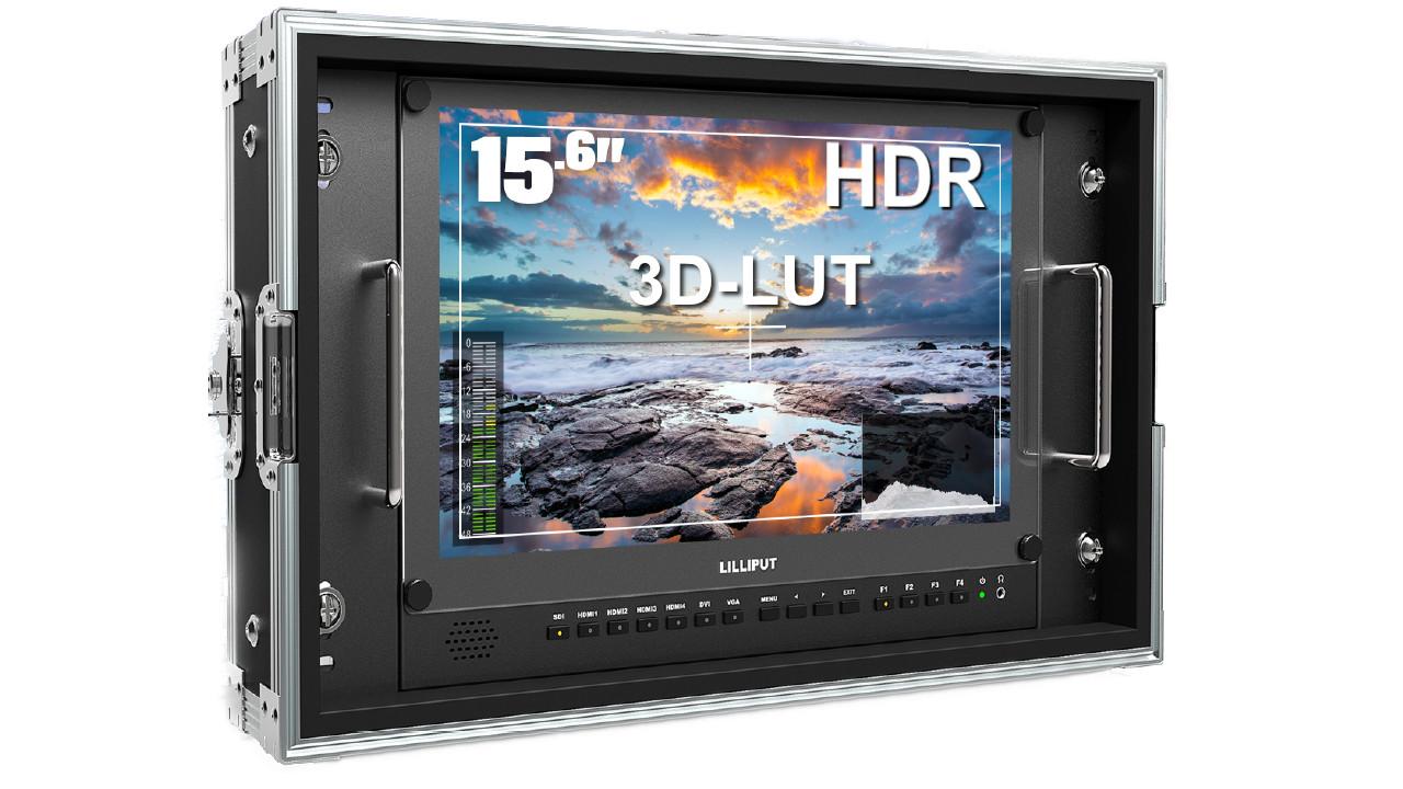 Artikelfoto Lilliput 15.6 Zoll 4K HDR Monitor BM150-4KS
