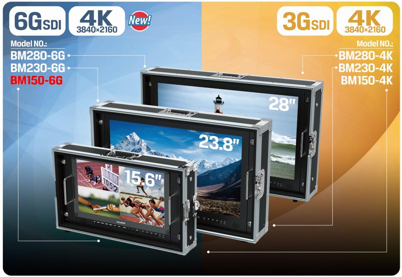 Foto Lilliput 15.6 Zoll 6G-SDI 4K Monitor 3840x2160 Pixel 50Hz BM150-6G