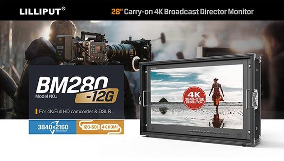 Artikelfoto Lilliput 23.8 Zoll 12G-SDI 4K Monitor 3840x2160 Pixel BM230-12G
