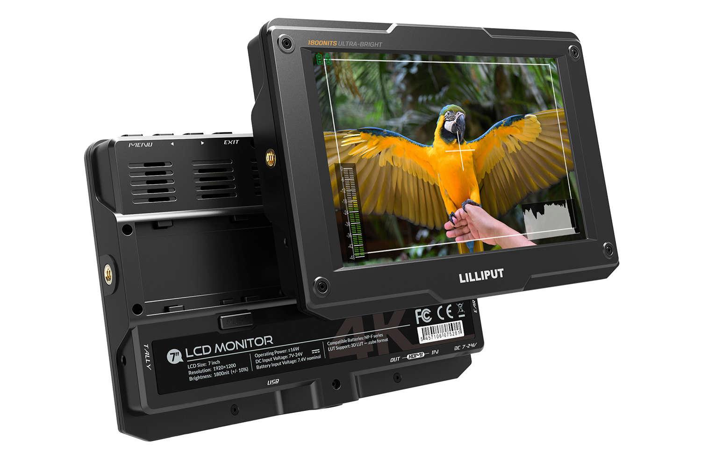Artikelfoto Lilliput H7 7 Zoll 4K fähiger HDMI Monitor High Brightness 1800 nits