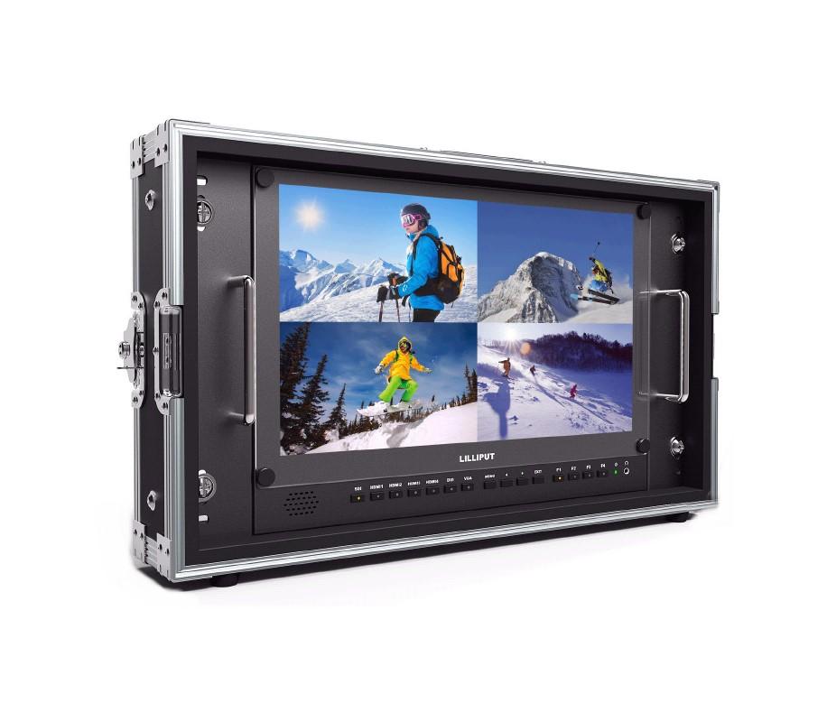 Artikelfoto Lilliput 15.6 Zoll 4K Monitor mit 4 x HDMI SDI VGA bis 3840x2160 50Hz BM150-4K