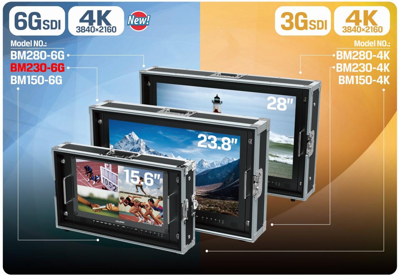 Foto Lilliput 23.8 Zoll 6G-SDI 4K Monitor 3840x2160 Pixel BM230-6G