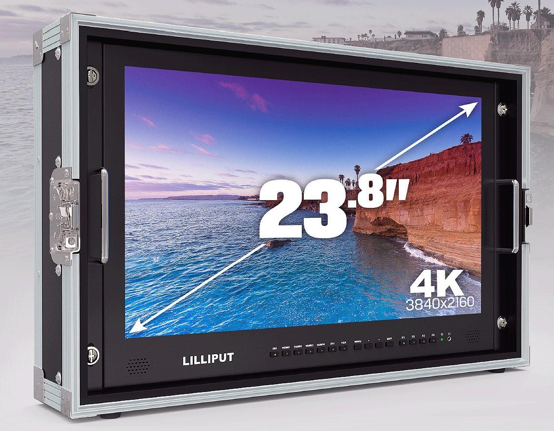 Artikelfoto Lilliput 23.8 Zoll 4K Monitor mit 4 x HDMI SDI VGA bis 3840x2160 50Hz BM230-4K