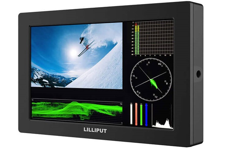 Artikelfoto Lilliput Q7 HD-SDI HDMI Monitor 7 Zoll Full HD Panel