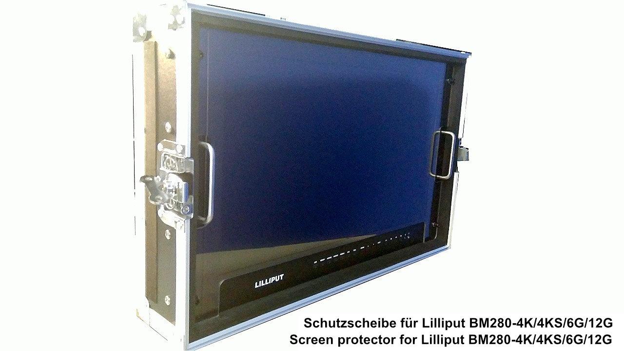 Artikelfoto 1 Lilliput 28 Zoll Schutzscheibe für Monitor BM280 Serie