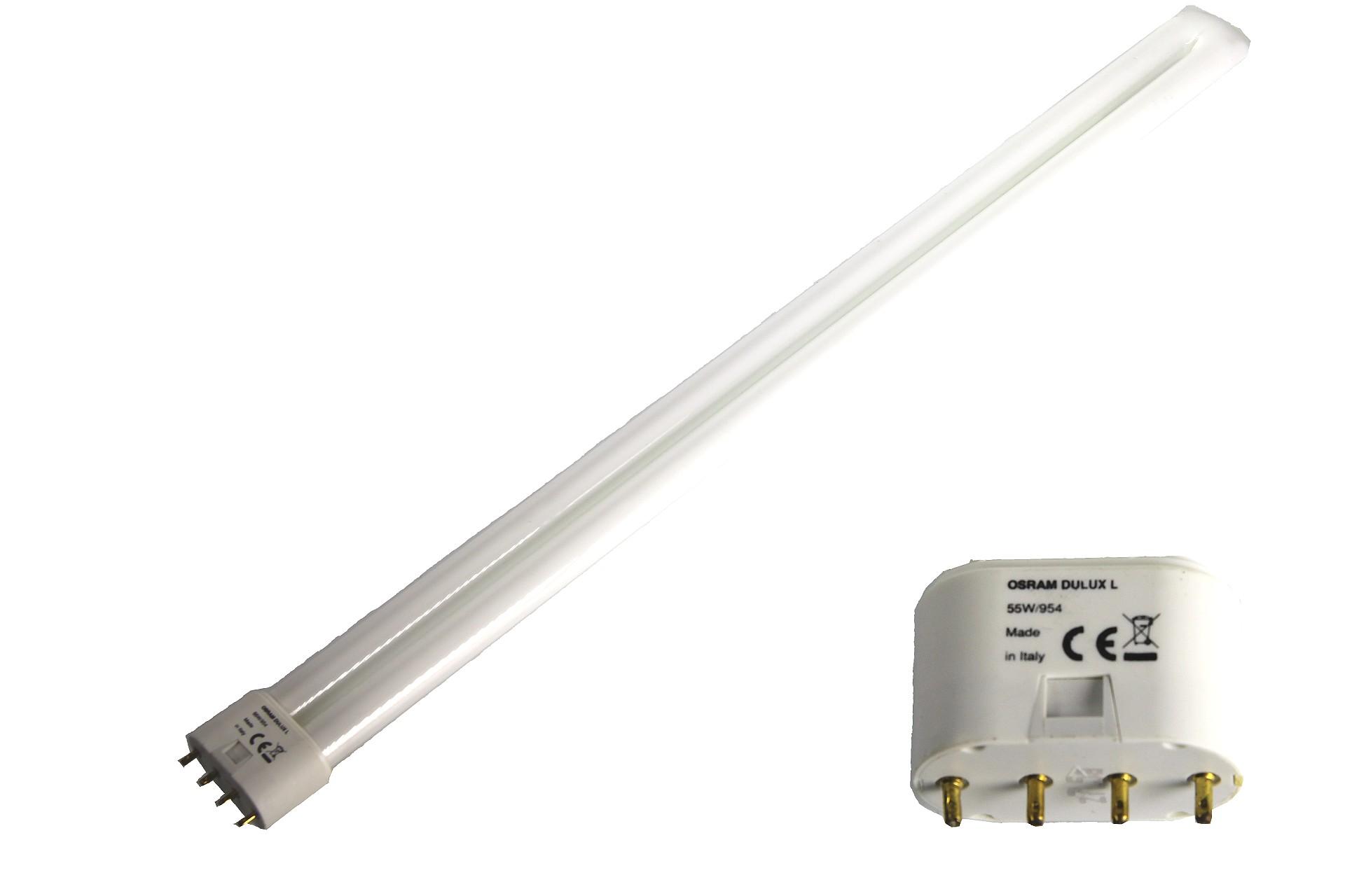 Artikelfoto 1 Ersatz Leuchtmittel Original OSRAM DULUX-L 55W/954 Kaltweiß für Studioleuchten