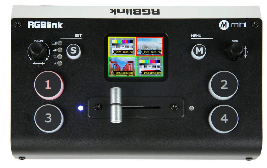 Artikelfoto Videomischer für Streaming RGBlink mini