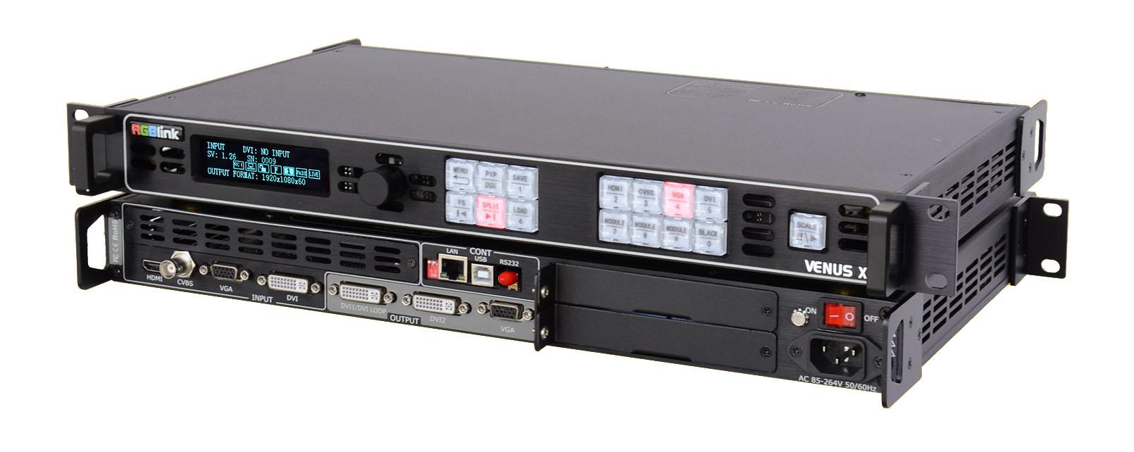 Artikelfoto 1 RGBLink VENUS X1 Switcher Scaler und Konverter