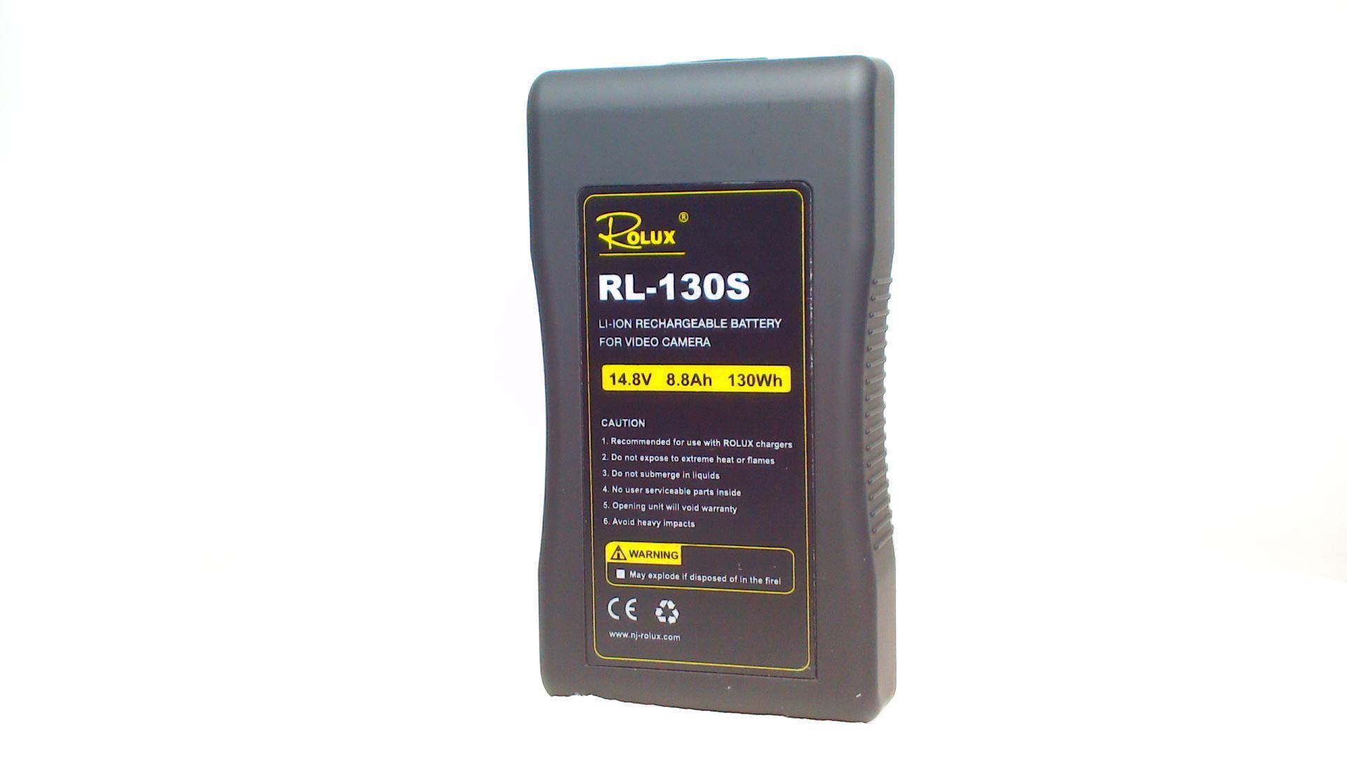Artikelfoto ROLUX RL-130S 130Wh 14.8V Li-Ion Akku V-Mount