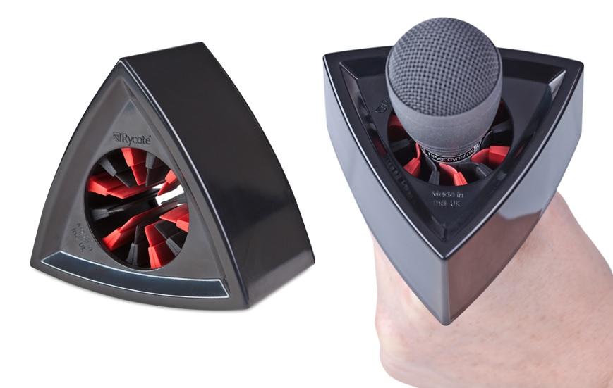 Artikelfoto Rycote 107302 Triangular Black Mikrofon Flag