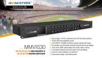 Artikelfoto 11 AVMATRIX Multiviewer und Matrix Umschalter MMV1630
