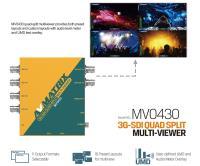 Artikelfoto 77 AVMATRIX 3G-SDI QUAD SPLIT Multiviewer MV0430