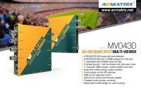 Artikelfoto 88 AVMATRIX 3G-SDI QUAD SPLIT Multiviewer MV0430