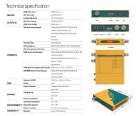 Artikelfoto 1212 AVMATRIX SDI zu HDMI Cross Wandler mit Skalierung SC2030