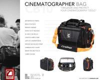 Artikelfoto 1010 Cinebags CB10 Cinematographer - Tasche für Festplatten und Zubehör am Set