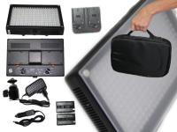 Artikelfoto 11 LED Kopflicht SET BICOLOR LED312AS mit Softbox